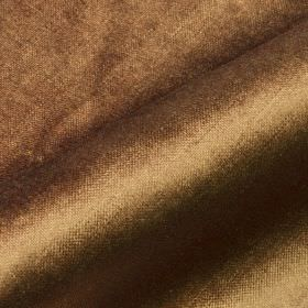 Arena - Brown (23) - Cotton, modal and polyester blended together into a chocolate brown coloured fabric finished with a subtle sheen