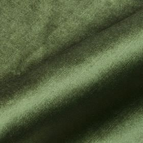 Arena - Green3 - Cotton, modal and polyester blend fabric made with a slight sheen in a plain forest green colour
