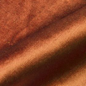 Arena - Brown7 - Fabric blended from a bright coppery orange coloured mixture of cotton, modal and polyester