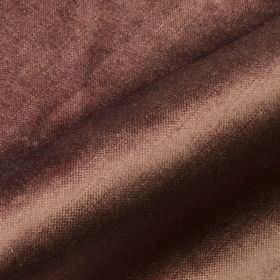 Arena - Brown (40) - Dusky purple-grey coloured fabric made from a blend of cotton, modal and polyester with no pattern