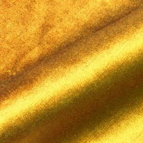 Arena - Yellow - Bright yellow-gold covering a cotton, modal and polyester blend fabric with a subtle sheen