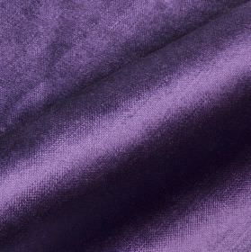 Arena - Purple4 - Deep violet coloured cotton, modal and poylester blend fabric finished with a subtle sheen