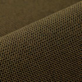 Popping CS - Brown (10) - Brown-grey and very dark brown-black coloured 100% Trevira CS fabric covered with a very small, simple grid patter