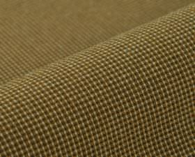 Popping CS - Orange - Light gold, dark brown and cream coloured threads woven together into a 100% Trevira CS fabric