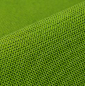 Popping CS - Green - Lime green and forest green coloured 100% Trevira CS fabric covered with a very small pattern resembling a simple grid