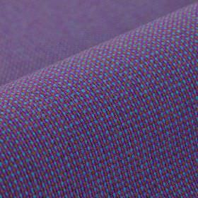 Popping CS - Purple - Fabric woven from 100% Trevira CS in bright purple and blue colours