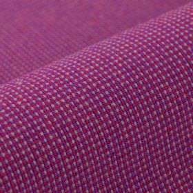 Popping CS - Pink Purple (20) - White-grey, raspberry and Royal purple coloured 100% Trevira CS threads woven together into an otherwise pla