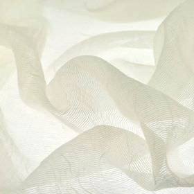 Calvas CS - White (1) - Translucent white, very thin net style fabric made entirely from Trevira CS