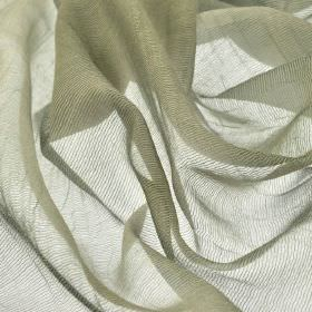 Calvas CS - Green Beige (5) - 100% Trevira CS fabric made in a silver grey coloured net style