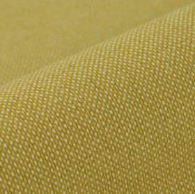 Popping CS - Gold - Miniscule cream coloured dots arranged in neat, regular rows over gold coloured 100% Trevira CS fabric