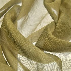 Calvas CS - Gold (10) - Beige coloured 100% Trevira CS threads woven into a net style fabric