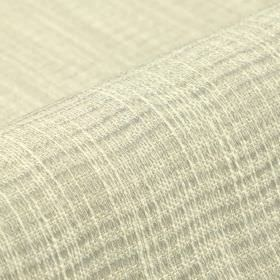 Flow CS - White (1) - 100% Trevira CS fabric woven using threads in white, off-white and two very pale shades of grey