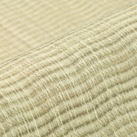 Flow CS - Cream (2) - Cream, light grey, beige and mid-grey coloured threads woven into a 100% Trevira CS fabric