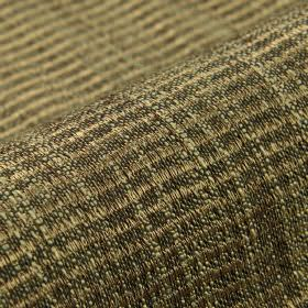 Flow CS - Dark Brown (6) - Dark grey, light brown and off-white threads woven into a slightly textured, rough checked pattern on  Trevira CS