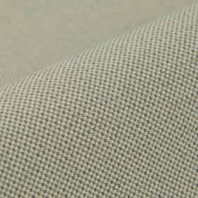 Popping CS - Light Grey - Dark grey dots arranged in a very small pattern of neat regular rows over 100% Trevira CS fabric in a pale shade o