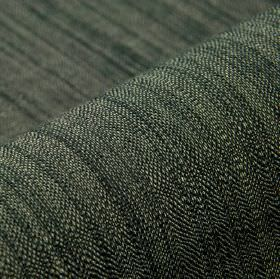 Congada CS - Black (11) - Very dark grey and off-white coloured threads woven together into a 100% Trevira CS fabric
