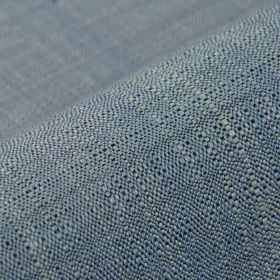 Congada CS - Blue Grey (17) - Plain fabric made from 100% Trevira CS using threads in white and two different shades of blue