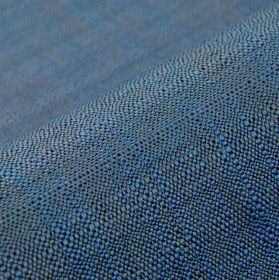 Congada CS - Blue (18) - Fabric woven from blue-grey coloured 100% Trevira CS