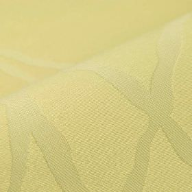 Giron CS - Beige (2) - Cream coloured 100% Trevira CS fabric patterned with pale cream-beige coloured overlapping lines
