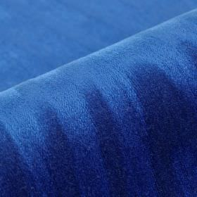 Palora CS - Blue - Very subtly patterned 100% Trevira CS fabric made in a very bright shade of Royal blue