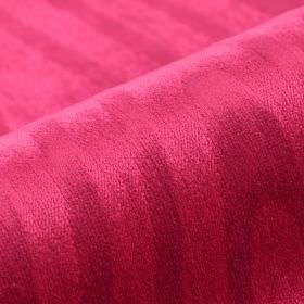 Palora CS - Pink - Fabric made from rose pink coloured 100% Trevira CS, featuring a very subtle pattern of unevenly arranged lines