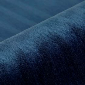 Palora CS - Navy (9) - Midnight blue coloured fabric made entirely from Trevira CS, covered with a very subtle pattern of uneven lines