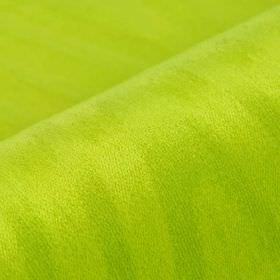 Palora CS - Green (12) - Citrus coloured 100% Trevira CS fabric featuring a very subtle, uneven line pattern