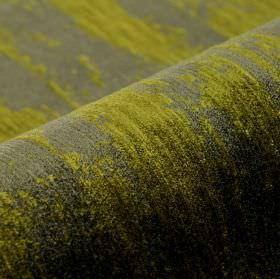 Monel - Green (2) - Fabric made from a blend of polyester and viscose, covered with areas of iron grey and olive green colouring