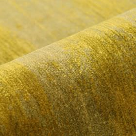 Monel - Gold (3) - Pale grey and straw coloured patches covering fabric made from a blend of polyester and viscose