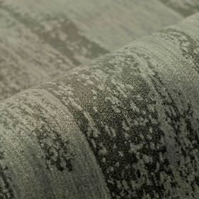 Monel - Black Grey - Iron grey coloured areas printed patchily over a light silver-grey coloured polyester and viscose blend fabric background