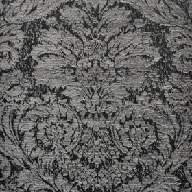 Jockey - Grey Black (15) - Ornate jacquard style designs covering fabric blended from polyester and viscose-chenille in dark & light shades