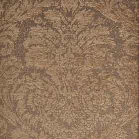 Jockey - Brown (3) - Polyester and viscose-chenille blended into an ornate, jacquard style print patterned fabric in two light shades of gre