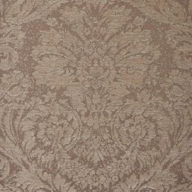Jockey - Beige (6) - Jacquard style patterns creating a large, subtle design on polyester & viscose-chenille blend fabric in 2 shades of gre