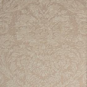 Jockey - Beige (8) - Two similar pale shades of grey making a subtle, ornate jacquard style pattern on polyester and viscose-chenille fabric