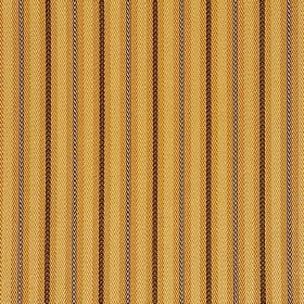 Estense CS - Brown Beige - Biscuit, brown and grey stripes printed in a simple, vertical, regular design on caramel coloured 100% Trevira CS
