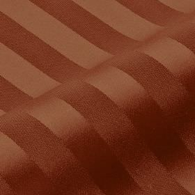 Lavina Stripe - Brown7 - Fabric made with a very subtle, slightly shiny striped design from pinkish brown coloured 100% Trevira CS