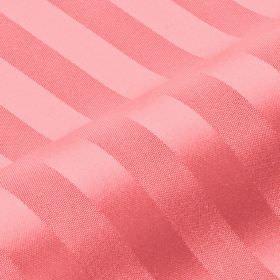 Lavina Stripe - Pink5 - Baby pink coloured, slightly shiny stripes of even widths arranged neatly over 100% Trevira CS fabric in the same co
