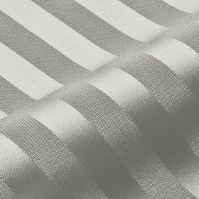Lavina Stripe - Grey (135) - Slightly shiny silver stripes creating a subtle pattern on matching light grey coloured fabric made from Trevir