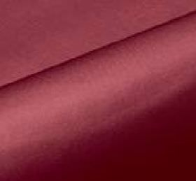 Cascarda - Purple (51) - Cherry coloured fabric made from 100% Trevira CS with a plain, unpatterned finish