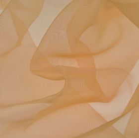 Gavotte - Orange (20) - Nude coloured 100% Trevira CS fabric made with a thin, translucent, plain finish