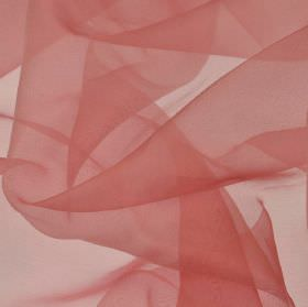 Gavotte - Pink (24) - 100% Trevira CS fabric made with a thin, translucent finish in a pale shade of pink