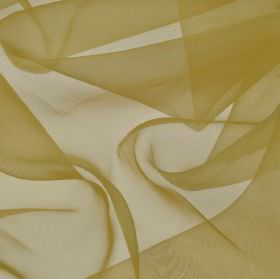 Gavotte 300cm - Green Yellow - Slightly translucent 100% Trevira CS fabric made in a light biscuit shade