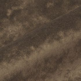Moresco - Brown (2) - Fabric made from 100% Trevira CS with a very slight texture in a smoke grey colour