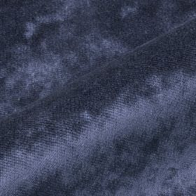 Moresco - Blue1 - Deep marine blue coloured fabric made from 100% Trevira CS with a subtle texture