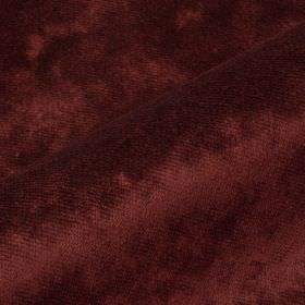 Moresco - Purple2 - Plain maroon coloured, slightly textured 100% Trevira CS fabric