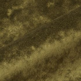 Moresco - Green (14) - Slightly textured, dusky olive green coloured fabric made entirely from Trevira CS