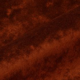 Moresco - Orange (15) - Deep rust coloured fabric made from slightly textured 100% Trevira CS