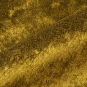 Moresco - Gold Yellow (27) - Gold coloured 100% Trevira CS fabric made with slightly patchy colouring due to having a subtle texture