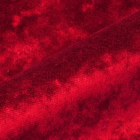 Moresco - Red (29) - Luxurious ruby red coloured, slightly textured fabric made from 100% Trevira CS