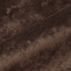 Moresco - Brown5 - Fabric made from 100% Trevira CS in a plain shade of dark brown-grey